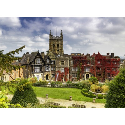 grafika-Puzzle - 300 pieces - Abbey Hotel in Great Malvern