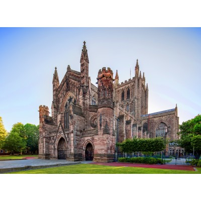 grafika-Puzzle - 300 Teile - Hereford Cathedral