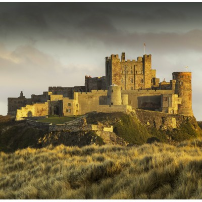 grafika-Puzzle - 1500 pieces - Bamburgh Castle in Northumberland