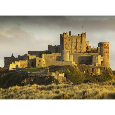 grafika-Puzzle - 300 pieces - Bamburgh Castle in Northumberland