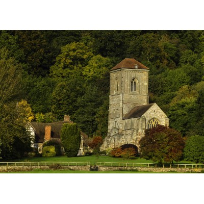 grafika-Puzzle - 1000 pieces - Little Malvern Priory