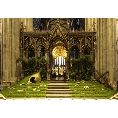 grafika-Puzzle - 1000 pieces - Easter in Worcester Cathedral