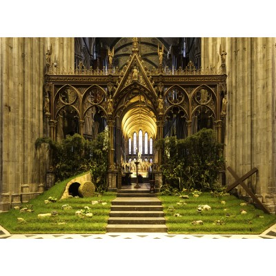 grafika-Puzzle - 300 Teile - Easter in Worcester Cathedral