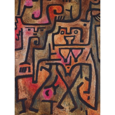 grafika-Puzzle - 2000 pieces - Paul Klee : Forest Witches, 1938