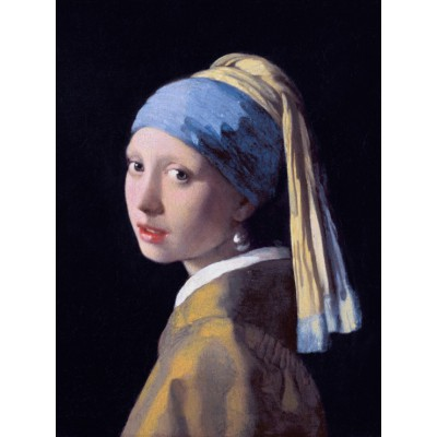 grafika-Puzzle - 2000 pieces - Vermeer Johannes: The Girl with a Pearl Earring, 1665
