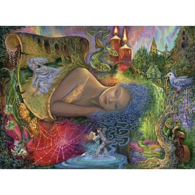 grafika-Puzzle - 2000 pieces - Josephine Wall - Dreaming in Color