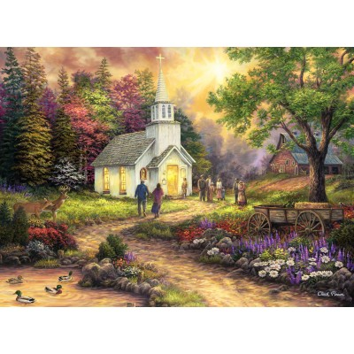 grafika-Puzzle - 2000 pieces - Chuck Pinson - Strength Along the Journey