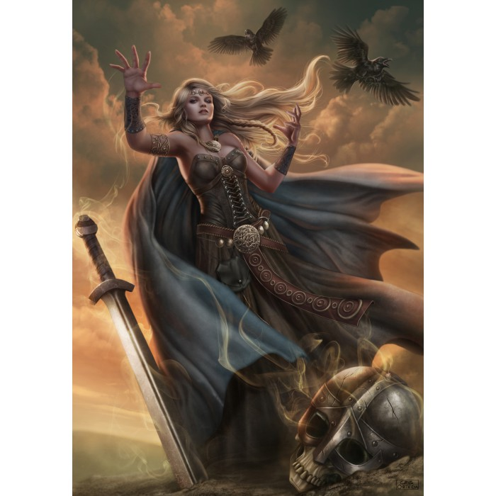Puzzle Grafika-T-00065 The Witch Queen