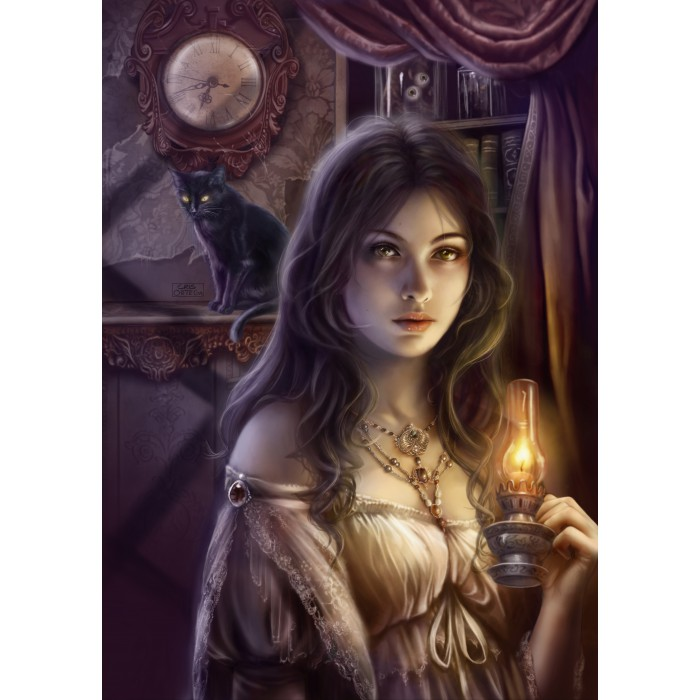 Puzzle Grafika-T-00068 The Witching Hour