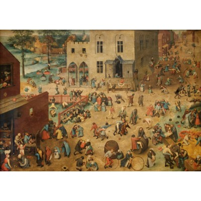 grafika-Puzzle - 1500 pieces - Brueghel Pieter: Children's Games, 1560