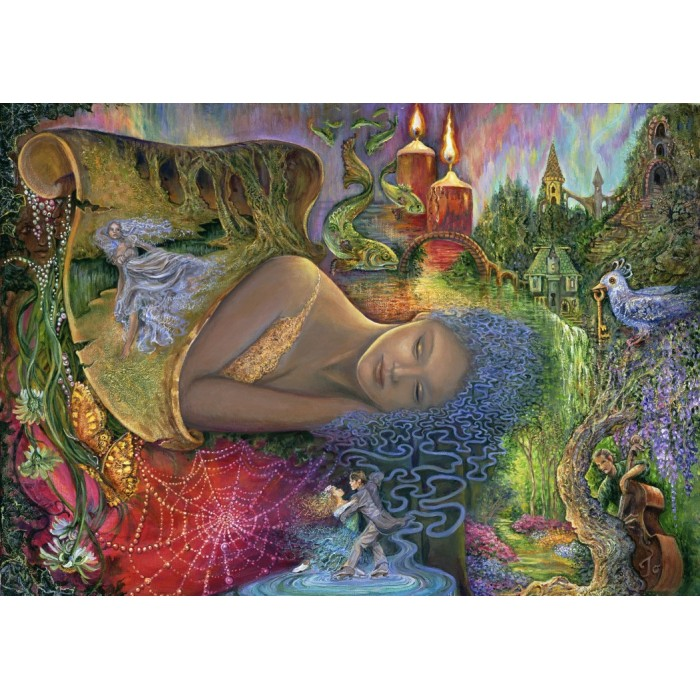 Puzzle Grafika-T-00189 Dreaming in Color