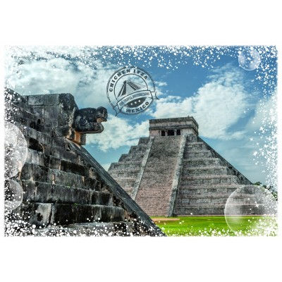 Puzzle  Grafika-T-00217 Travel around the World - Mexico