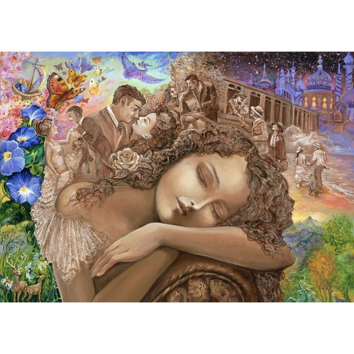 Puzzle Grafika-T-00273 Josephine Wall - If Only