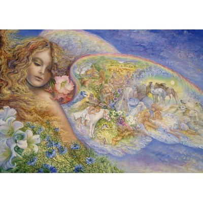 Puzzle  Grafika-T-00334 Josephine Wall - Wings of Love