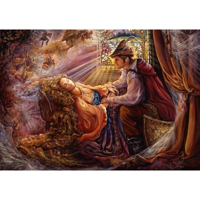 Puzzle  Grafika-T-00385 Josephine Wall - Sleeping Beauty