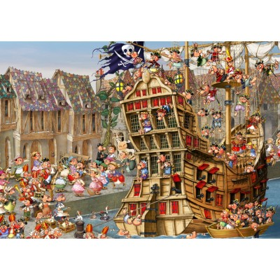 grafika-Puzzle - 1500 pieces - François Ruyer - Pirates