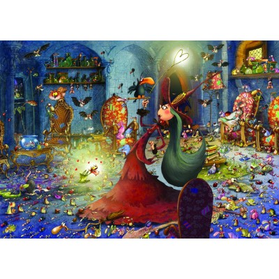 grafika-Puzzle - 1000 pieces - François Ruyer - Witch