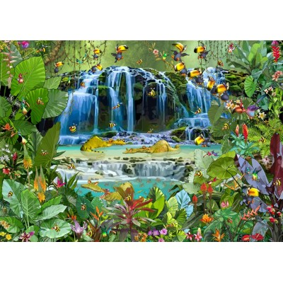 Puzzle  Grafika-T-00526 François Ruyer - Waterfall