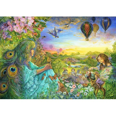 Puzzle  Grafika-T-00532 Josephine Wall - Daydreaming
