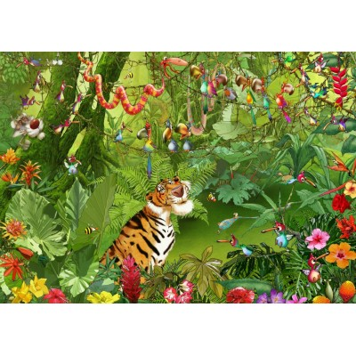 Puzzle  Grafika-T-00545 François Ruyer - Jungle