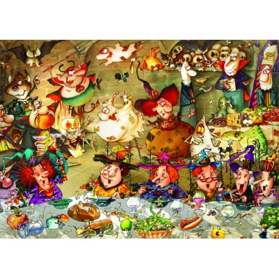 grafika-Puzzle - 500 pieces - François Ruyer - Witches