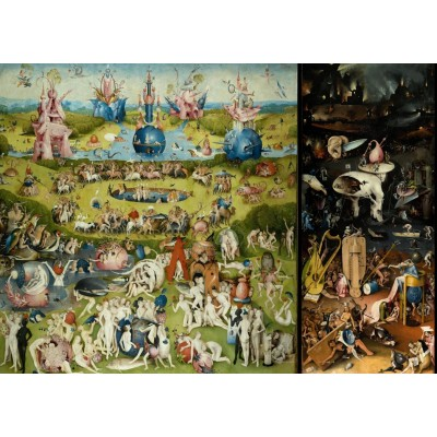 grafika-Puzzle - 1000 pieces - Hieronymus Bosch - The Garden of Earthly Delights