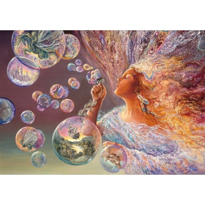 Puzzle  Grafika-T-00625 Bubble Flower