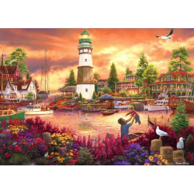 grafika-Puzzle - 2000 pieces - Chuck Pinson - Love Lifted Me