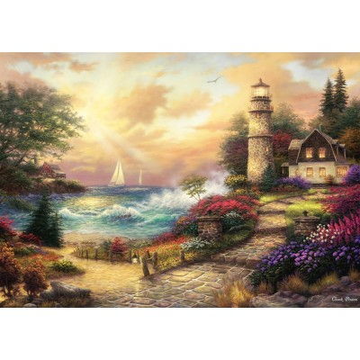 Puzzle  Grafika-T-00773 Chuck Pinson - Seaside Dreams