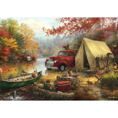 grafika-Puzzle - 1500 pieces - Chuck Pinson - Share the Outdoors