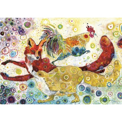 grafika-Puzzle - 1000 Teile - Sally Rich - Leaping Fox's
