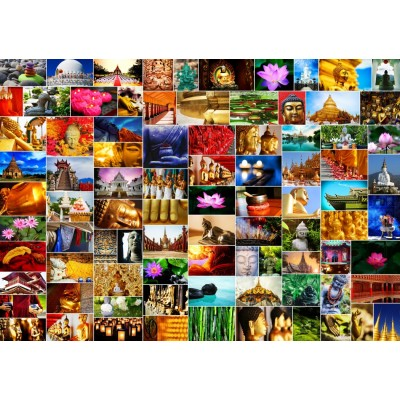 grafika-Puzzle - 1500 pieces - Collage - Zen