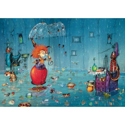 grafika-Puzzle - 1000 pieces - Wet Witch