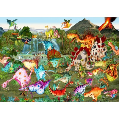 grafika-Puzzle - 1000 pieces - Prehistory