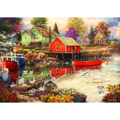 grafika-Puzzle - 1000 pieces - Quiet Cove