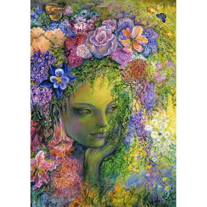 Puzzle Grafika-T-00948 Queen of the May