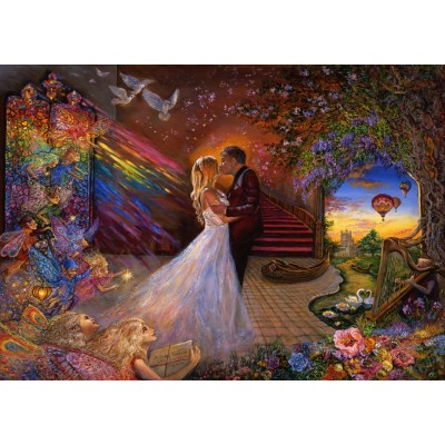 grafika-Puzzle - 1000 Teile - Fairy Wedding
