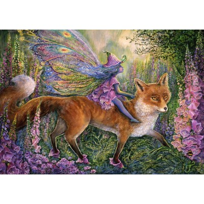 grafika-Puzzle - 1000 pieces - Foxglove Fairy