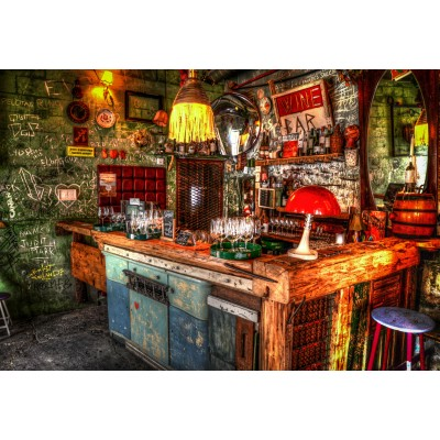 grafika-Puzzle - 250 pieces - Ruin Bar in Budapest
