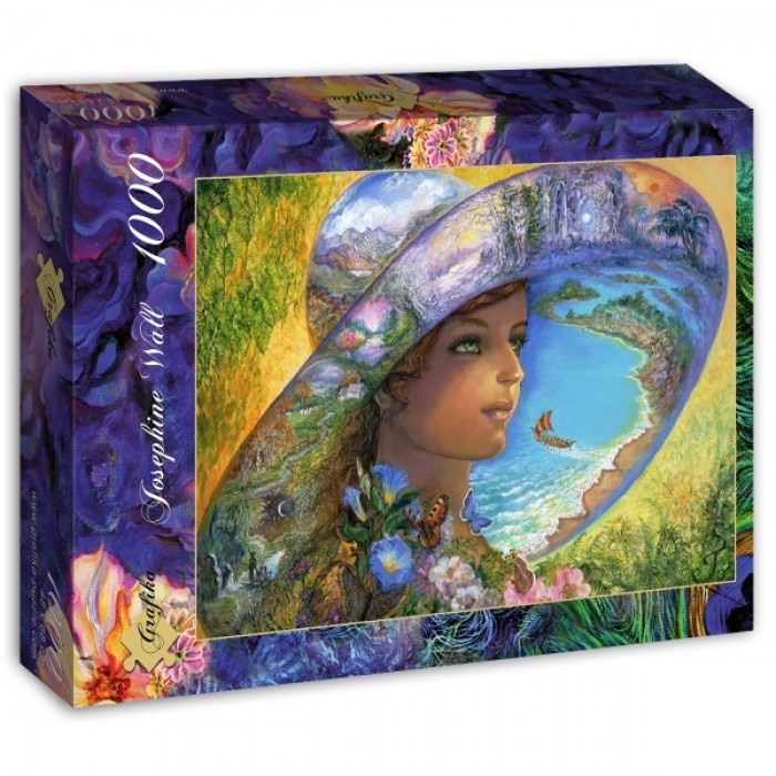 Puzzle Grafika-T-00020 Hat of Timeless Places