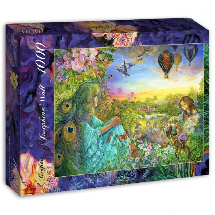 Puzzle Grafika-T-00531 Josephine Wall - Daydreaming