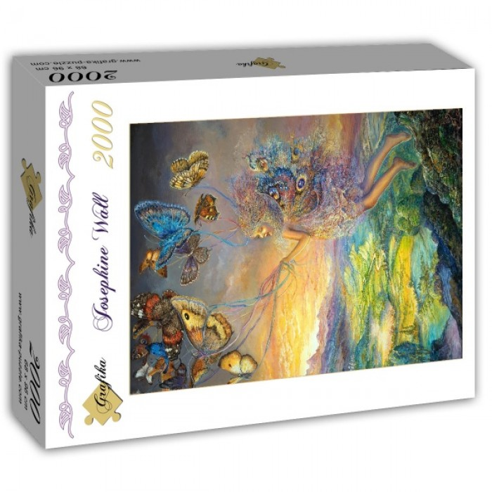 Puzzle Grafika-T-00193 Josephine Wall - Up and Away