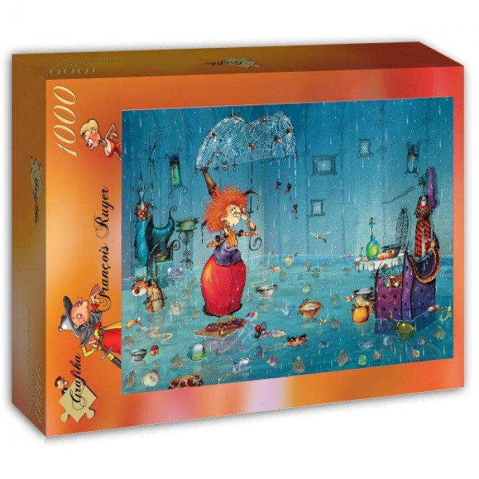Puzzle Grafika-T-00939 Wet Witch