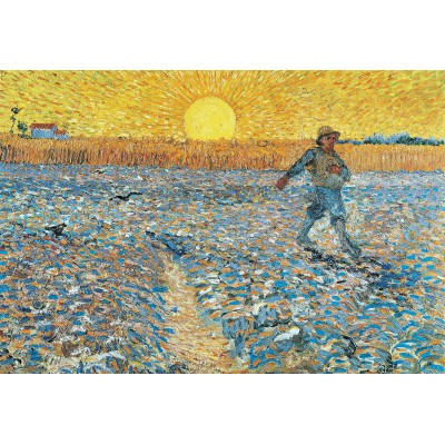 grafika-Puzzle - 12 pieces - XXL Pieces - Van Gogh : The Sower, 1888