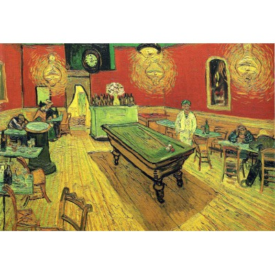 grafika-Puzzle - 12 pieces - XXL Pieces - Vincent van Gogh: The Night Cafe, 1888