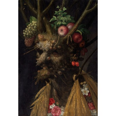 grafika-Puzzle - 12 pieces - XXL Pieces - Arcimboldo Giuseppe: Four Seasons in One Head, 1590