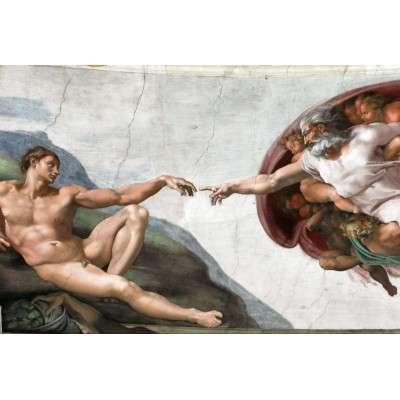 grafika-Puzzle - 100 pieces - Michelangelo, 1508-1512