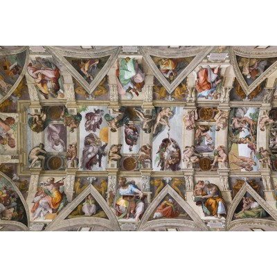 grafika-Puzzle - 100 pieces - Michelangelo: Sistine Chapel
