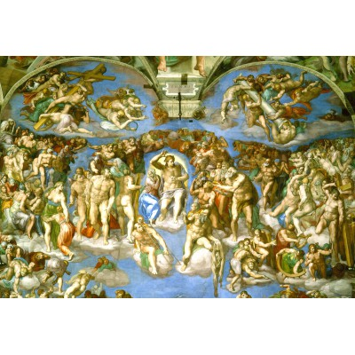 grafika-Puzzle - 12 pieces - XXL Pieces - Michelangelo : Judgement Day