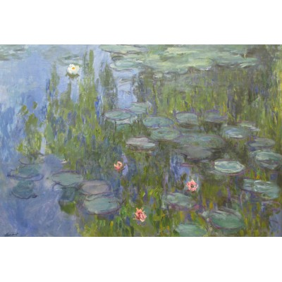 grafika-Puzzle - 12 pieces - XXL Pieces - Claude Monet: Nymphéas, 1915